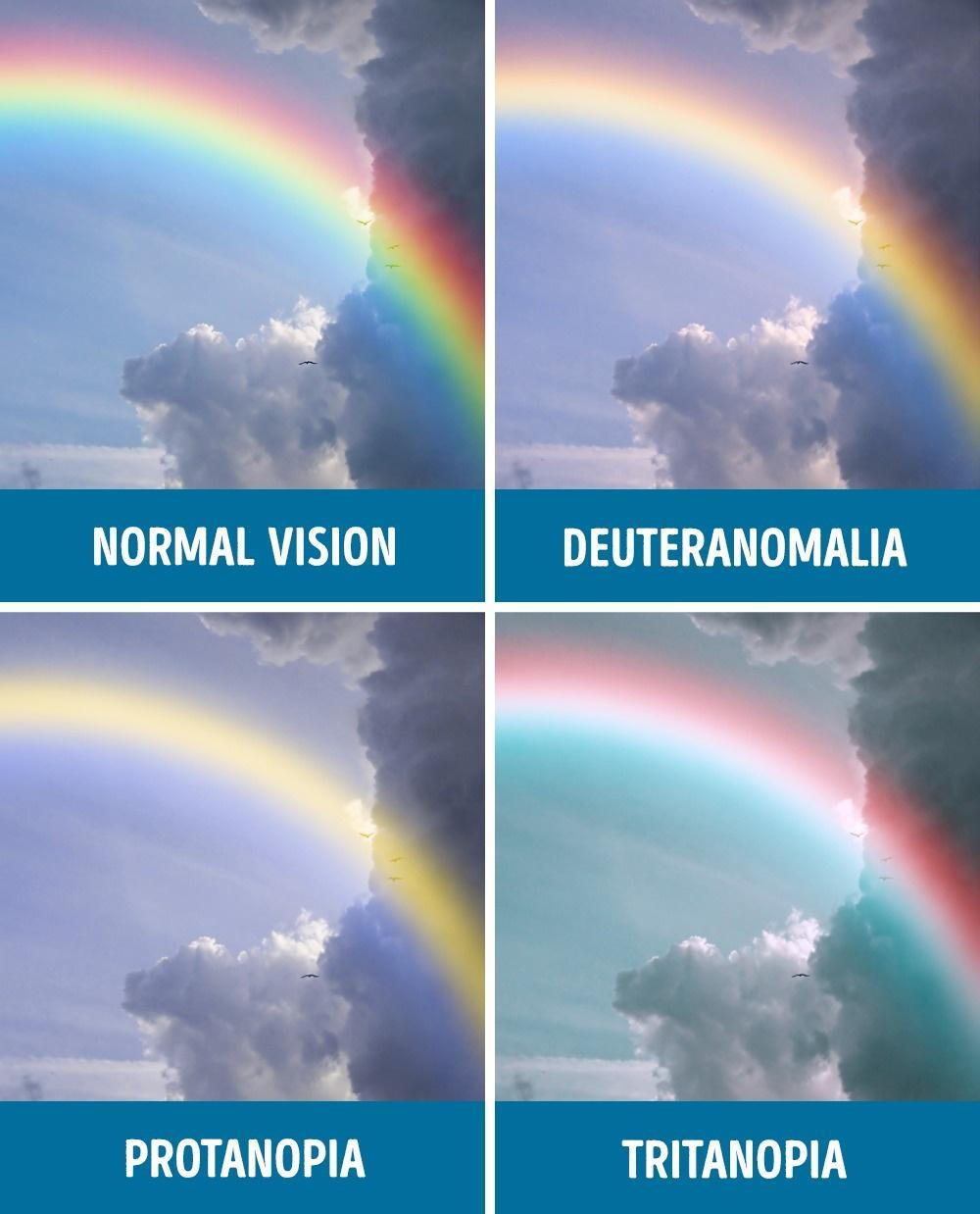 Things that colour vision deficit people don't notice